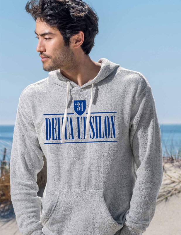 Delta Upsilon Lucas Loop Fleece Hood