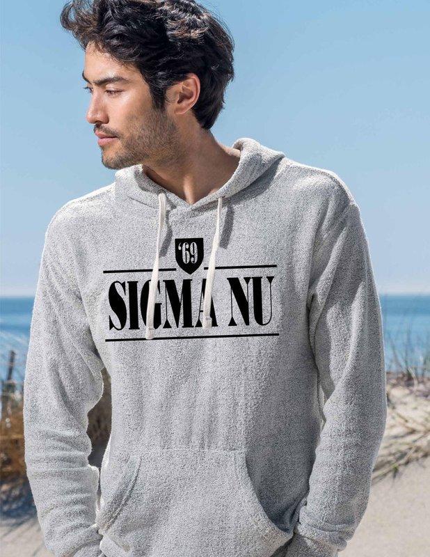 Sigma Nu Lucas Loop Fleece Hood