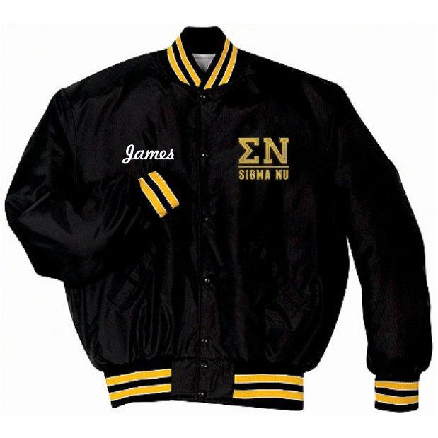 6199afcd0 Fraternity Heritage Nylon Jacket SALE $64.95. - Greek Gear®