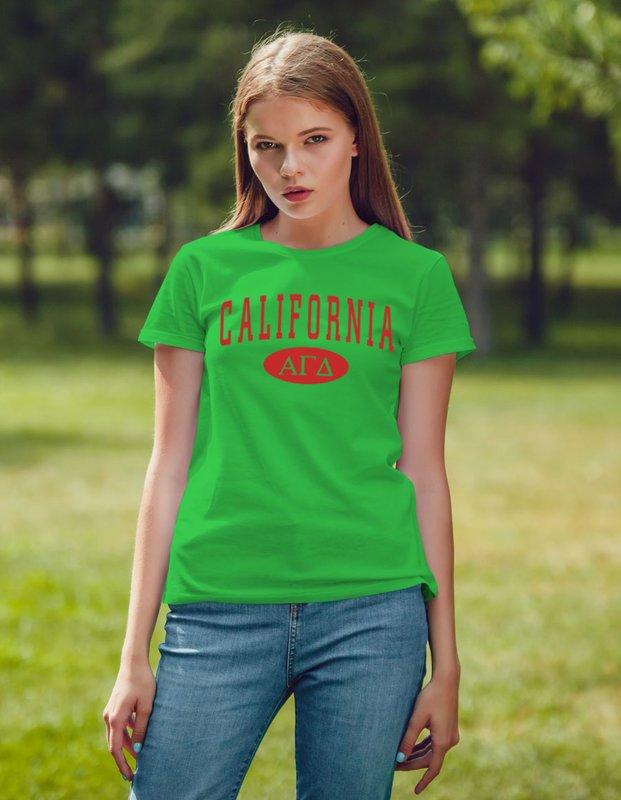 Alpha Gamma Delta State T-Shirts