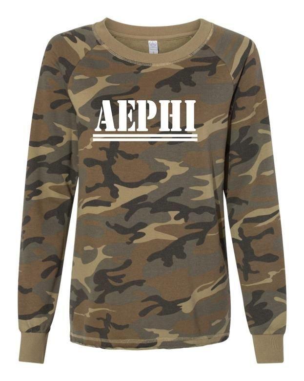 Alpha Epsilon Phi Camo Crew