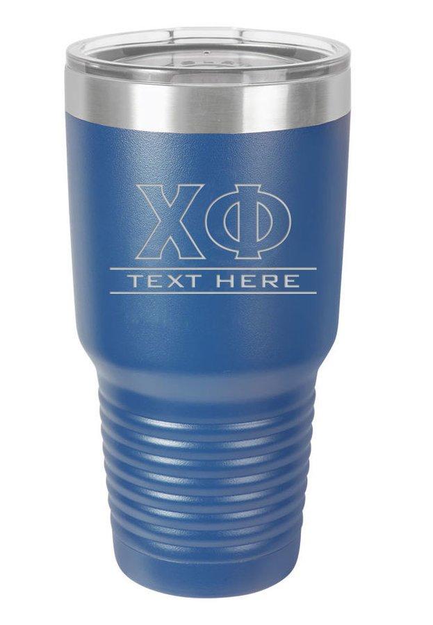 Chi Phi Vacuum Insulated Tumbler