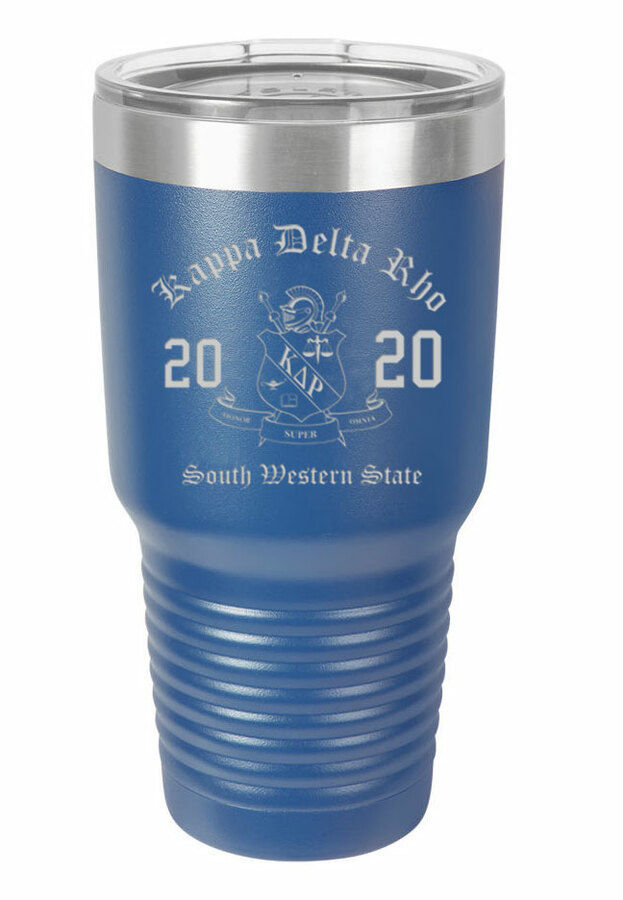 Kappa Delta Rho Insulated Tumbler