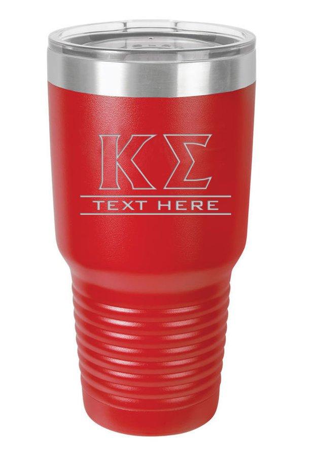 Kappa Sigma Vacuum Insulated Tumbler