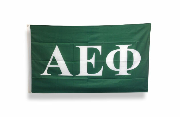 Alpha Epsilon Phi Big Greek Letter Flag