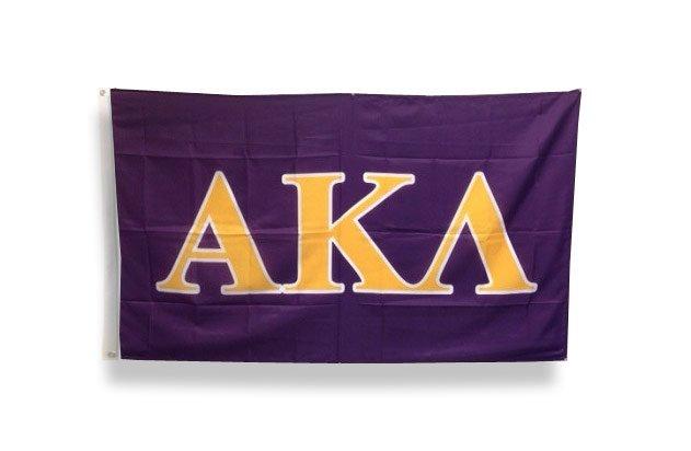 Alpha Kappa Lambda Big Greek Letter Flag