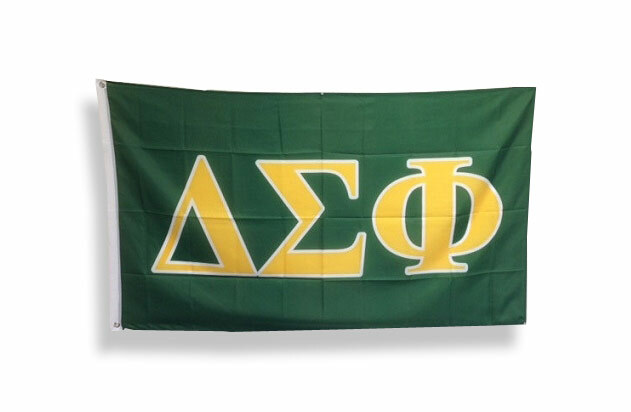 Delta Sigma Phi Big Greek Letter Flag