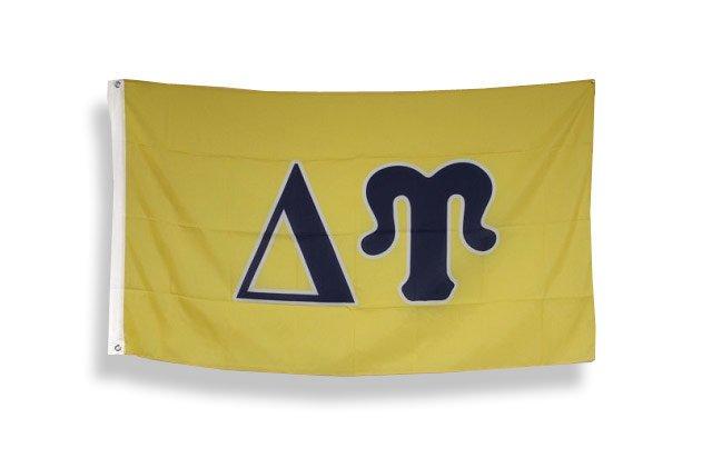 Delta Upsilon Big Greek Letter Flag