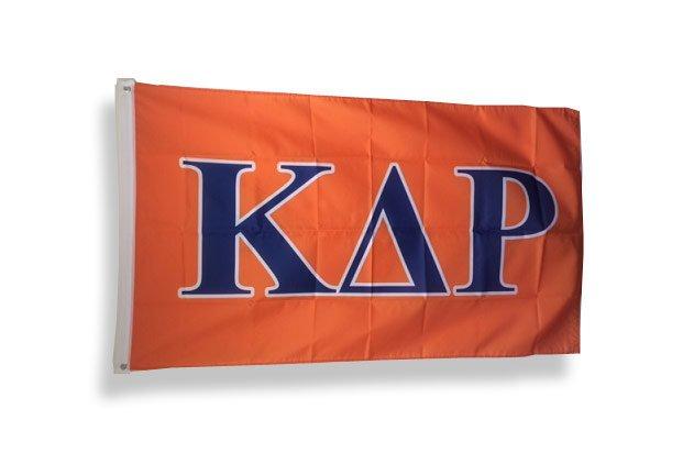 Kappa Delta Rho Big Greek Letter Flag