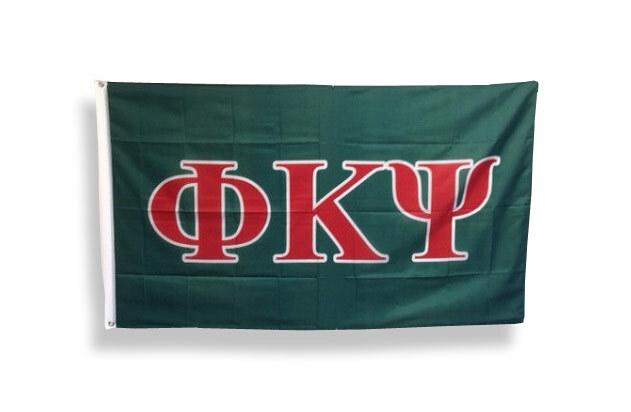 Phi Kappa Psi Big Greek Letter Flag