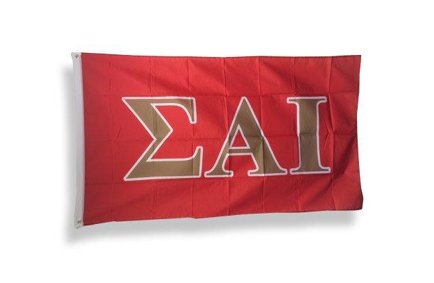 Sigma Alpha Iota Big Greek Letter Flag