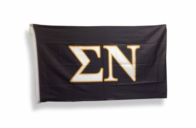 Sigma Nu Big Greek Letter Flag