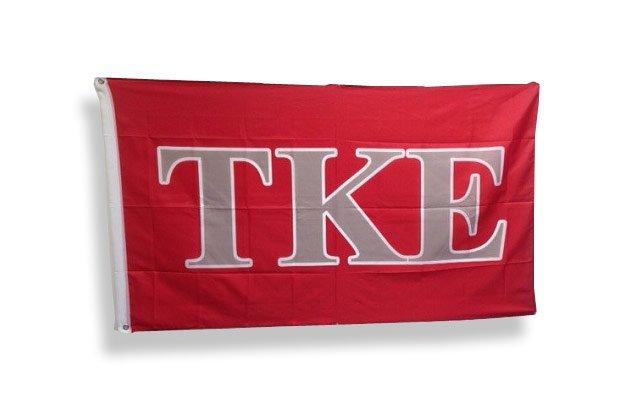 Tau Kappa Epsilon Big Greek Letter Flag