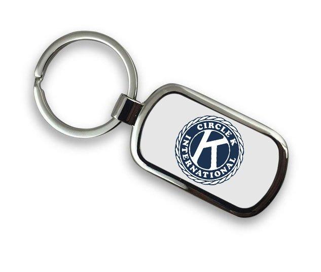 Circle K Chrome Key Chain