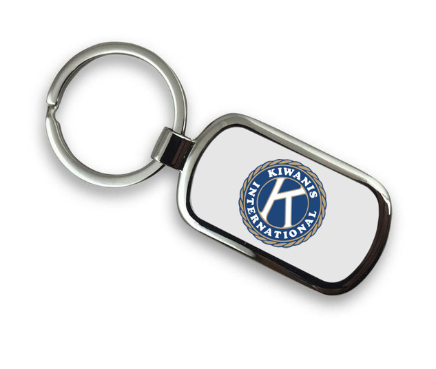 Kiwanis Chrome Key Chain