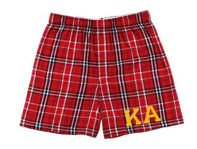 Kappa Alpha Flannel Boxer Shorts