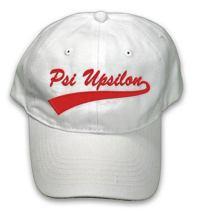 Psi Upsilon New Tail Baseball Hat