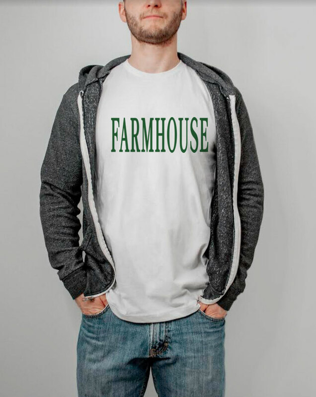 FarmHouse Fraternity Lettered Tee - $14.95!