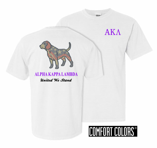 Alpha Kappa Lambda United We Stand Comfort Colors T-Shirt
