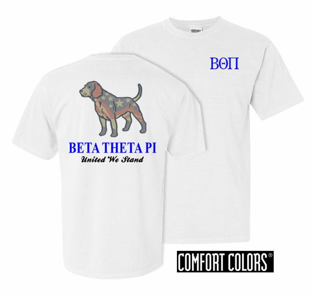 Beta Theta Pi United We Stand Comfort Colors T-Shirt