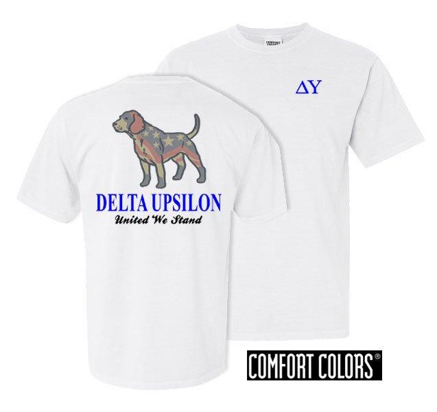 Delta Upsilon United We Stand Comfort Colors T-Shirt
