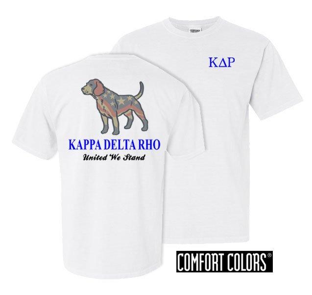 Kappa Delta Rho United We Stand Comfort Colors T-Shirt