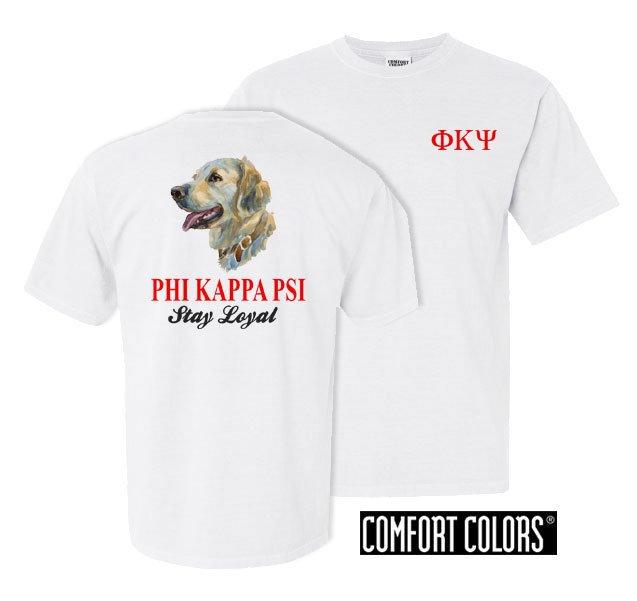 Phi Kappa Psi Stay Loyal Comfort Colors T-Shirt