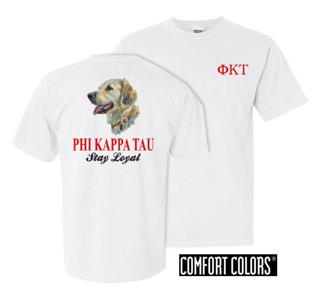 Phi Kappa Tau Stay Loyal Comfort Colors T-Shirt