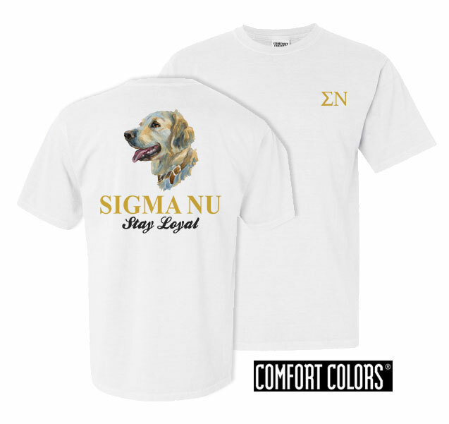 Sigma Nu Stay Loyal Comfort Colors T-Shirt
