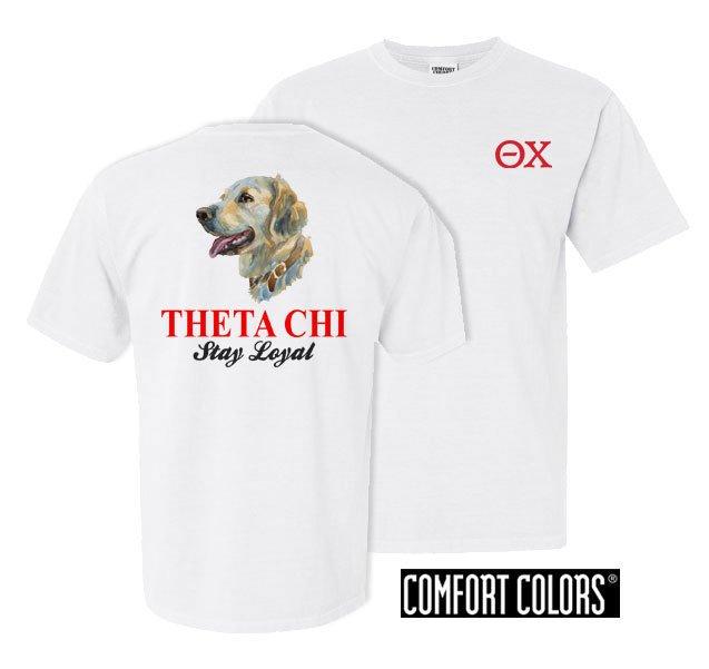 Theta Chi Stay Loyal Comfort Colors T-Shirt