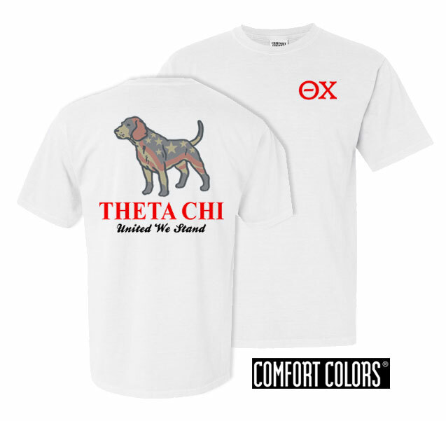 Theta Chi United We Stand Comfort Colors T-Shirt