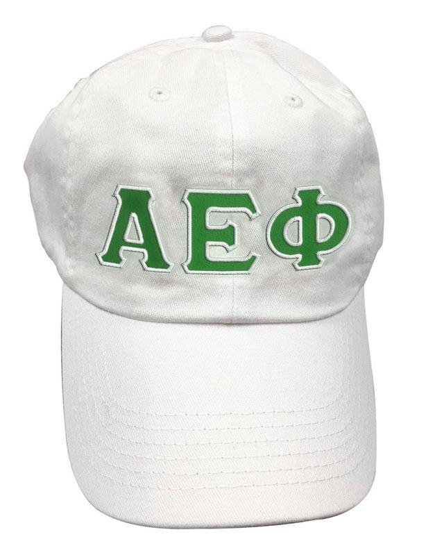 Alpha Epsilon Phi Double Greek Letter Cap