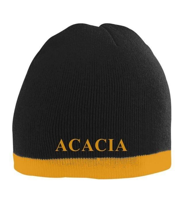 ACACIA Two Tone Knit Beanie