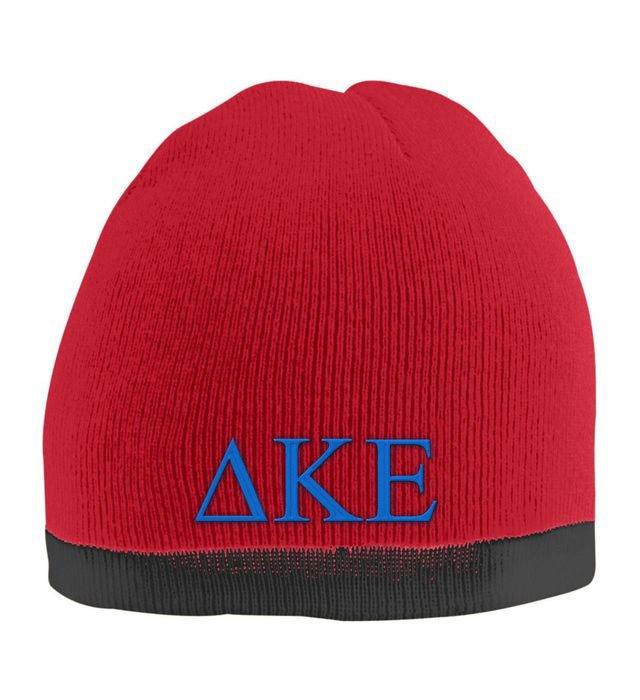 Delta Kappa Epsilon Two Tone Knit Beanie
