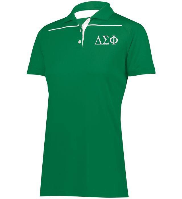 Delta Sigma Phi Subtle Greek Letter Defer Polo