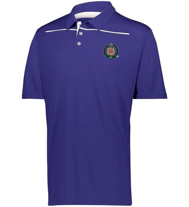 Omega Psi Phi Greek Crest Emblem Defer Polo