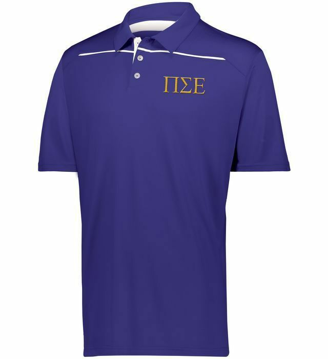 Pi Sigma Epsilon Subtle Greek Letter Defer Polo