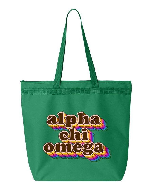 Alpha Chi Omega Maya Tote Bag