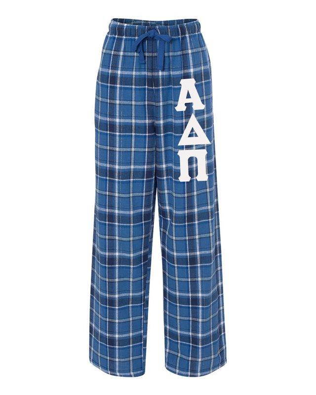 Alpha Delta Pi Pajamas -  Flannel Plaid Pant