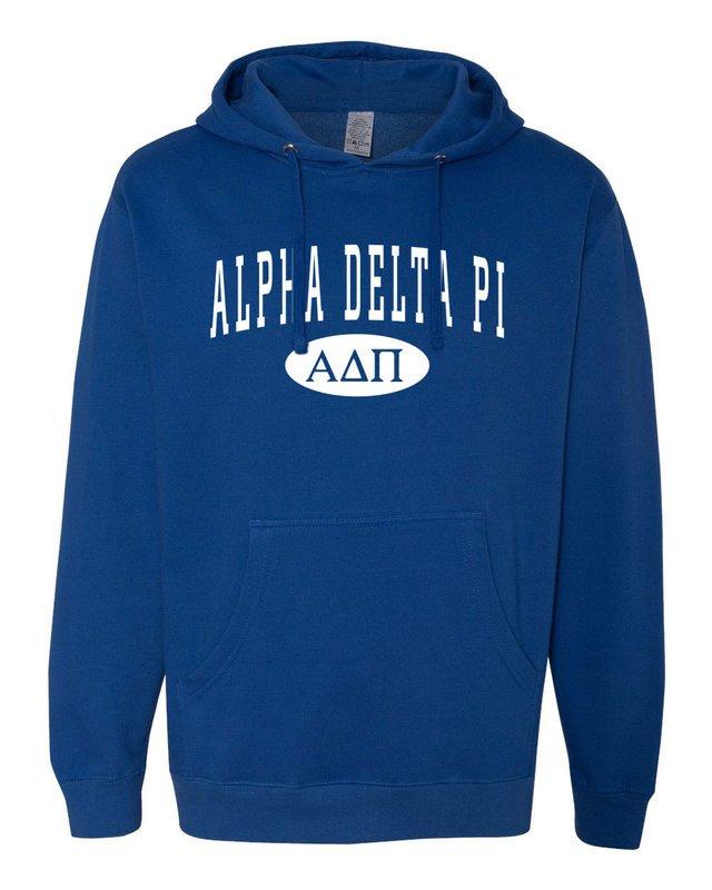 Alpha Delta Pi State Crewneck Sweatshirt