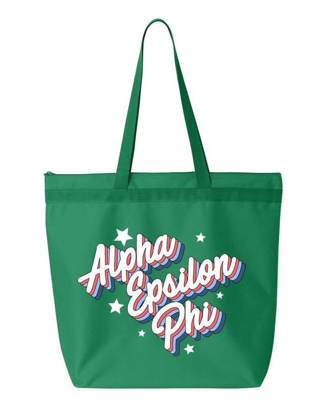 Alpha Epsilon Phi Flashback Tote Bag