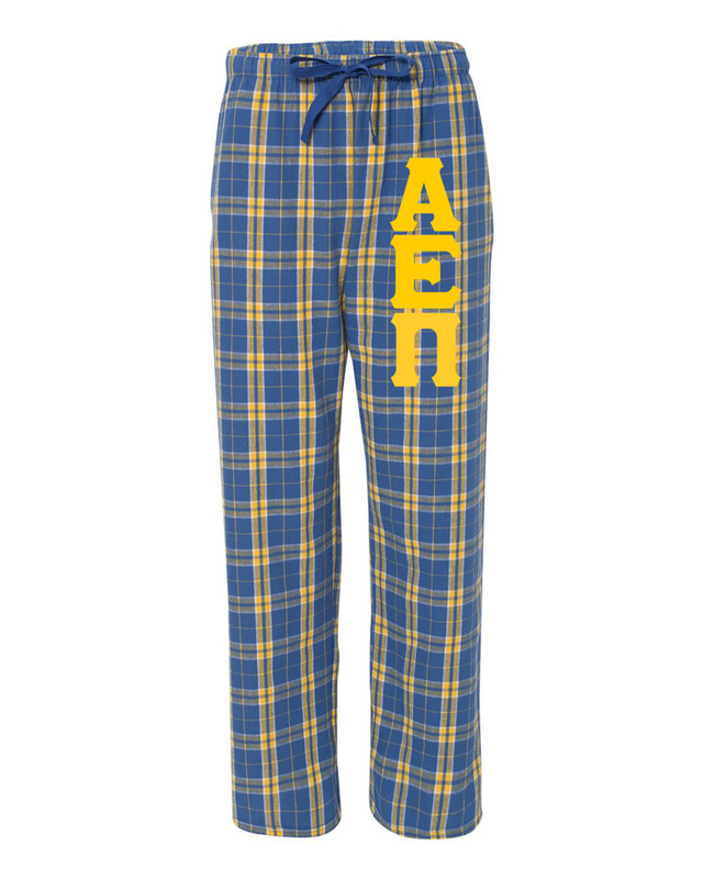 Alpha Epsilon Pi Pajamas Flannel Pant