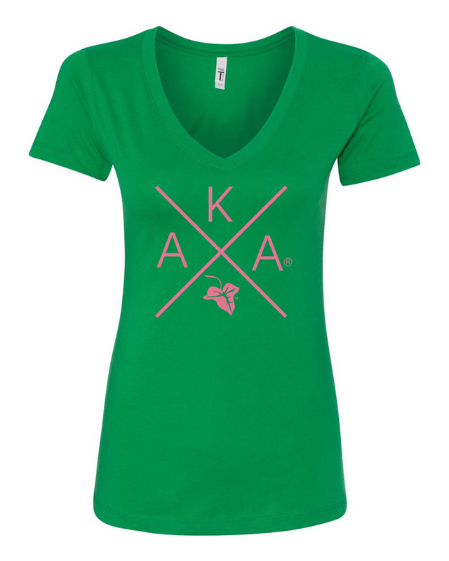 Alpha Kappa Alpha Infinity V-Neck
