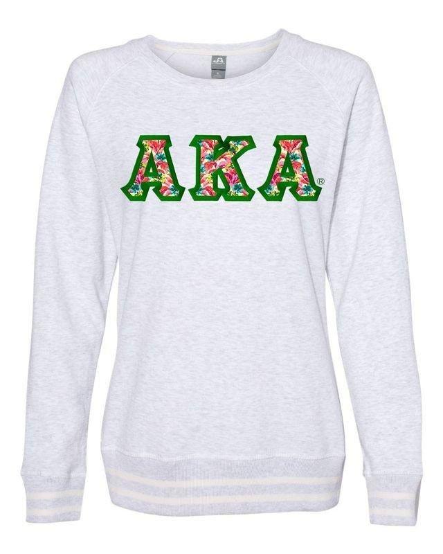 Alpha Kappa Alpha J. America Relay Crewneck Sweatshirt