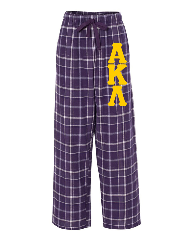 Alpha Kappa Lambda Pajamas Flannel Pant