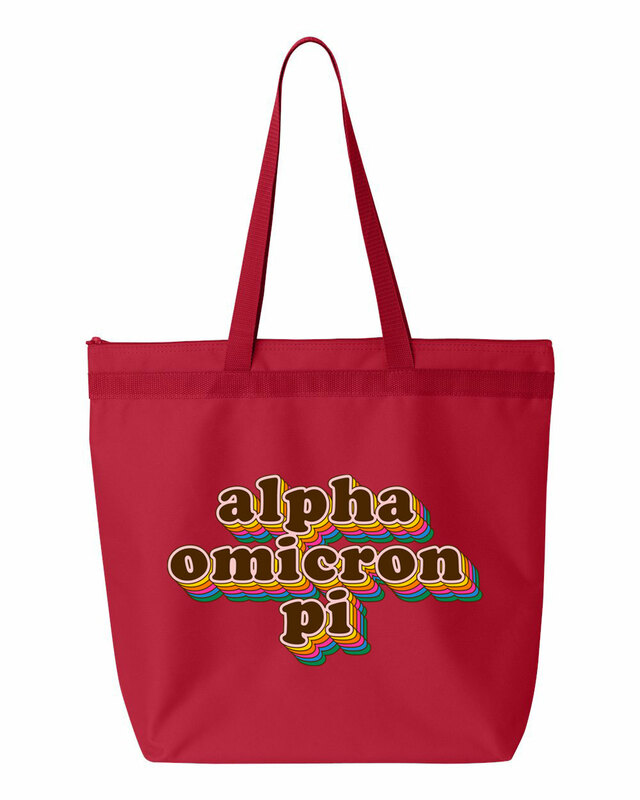 Alpha Omicron Pi Maya Tote Bag