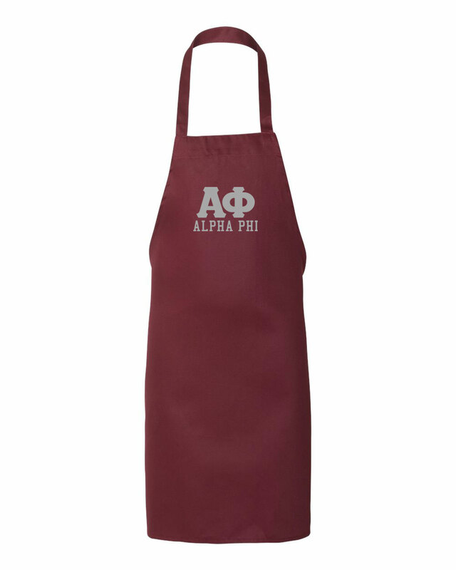 Alpha Phi Large Apron