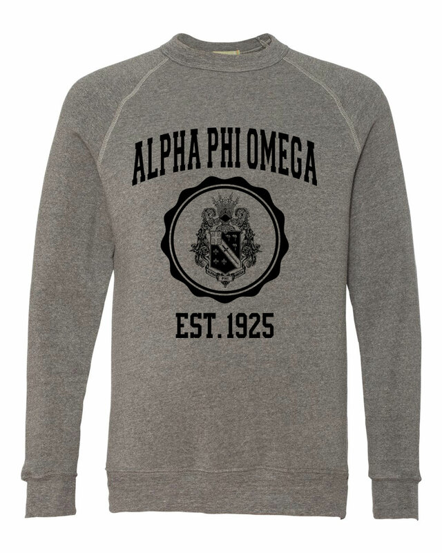 Alpha Phi Omega Alternative - Eco-Fleece™ Champ Crewneck Sweatshirt