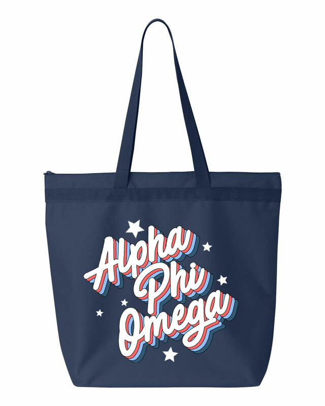 Alpha Phi Omega Flashback Tote bag