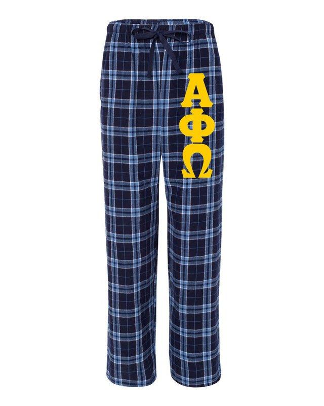 Alpha Phi Omega Pajamas Flannel Pant